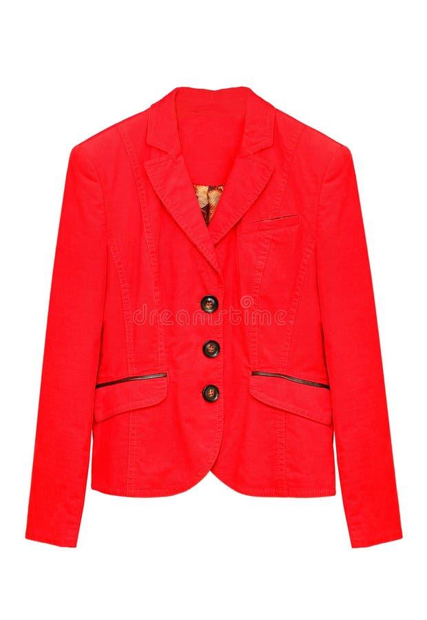红色夹克 免版税图库摄影