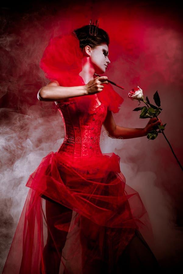 红色女王/王后 库存照片