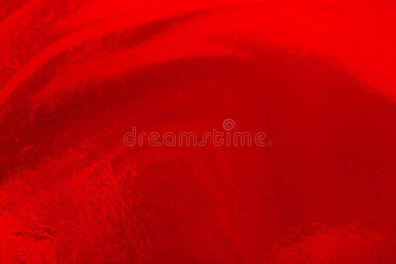 红色定调子抽象表现主义水彩手画backgro 免版税图库摄影
