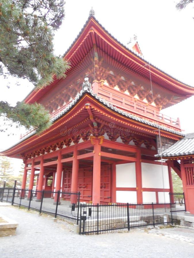 红色寺庙 免版税库存照片