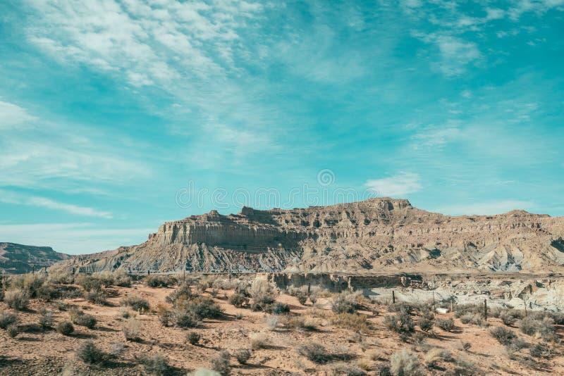 红色岩石亚利桑那美国看法  库存图片