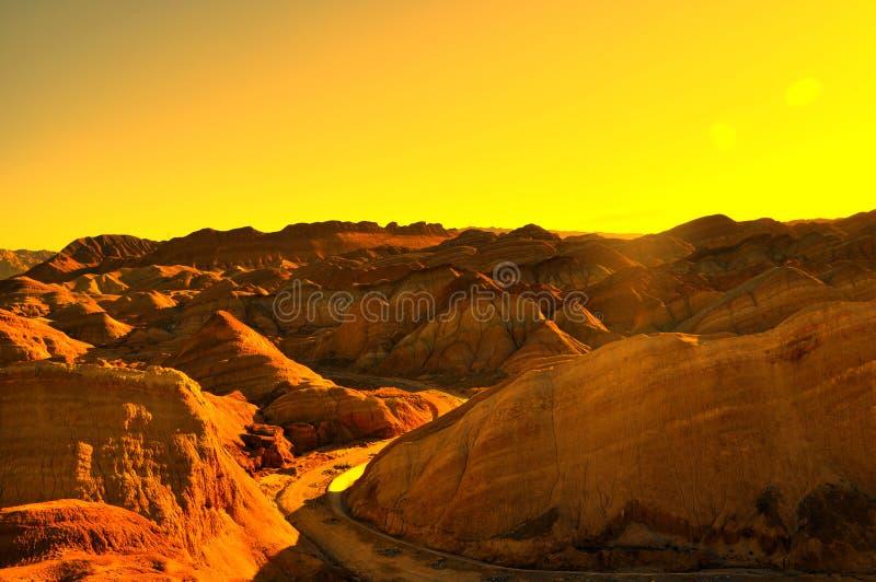 红色岩石峡谷 库存照片