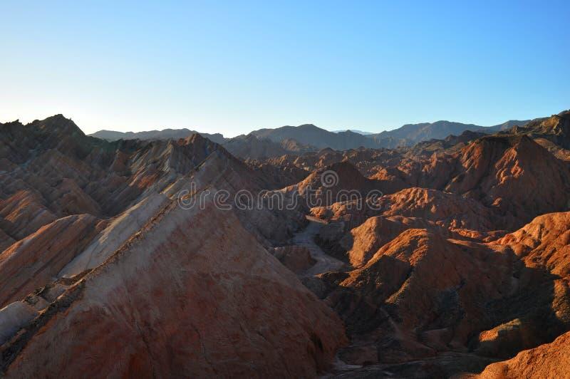 红色岩石峡谷 库存图片