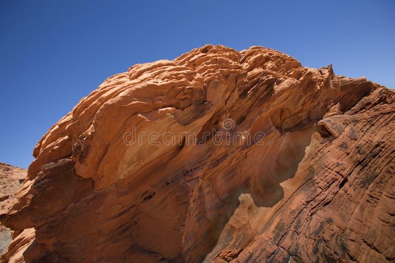 红色岩石 免版税库存图片