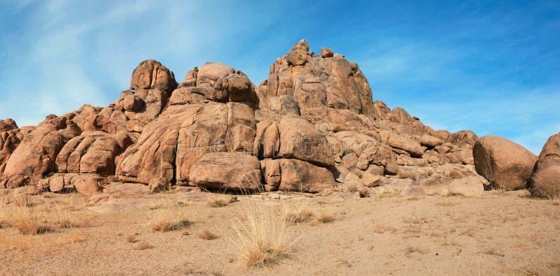 红色岩石 图库摄影
