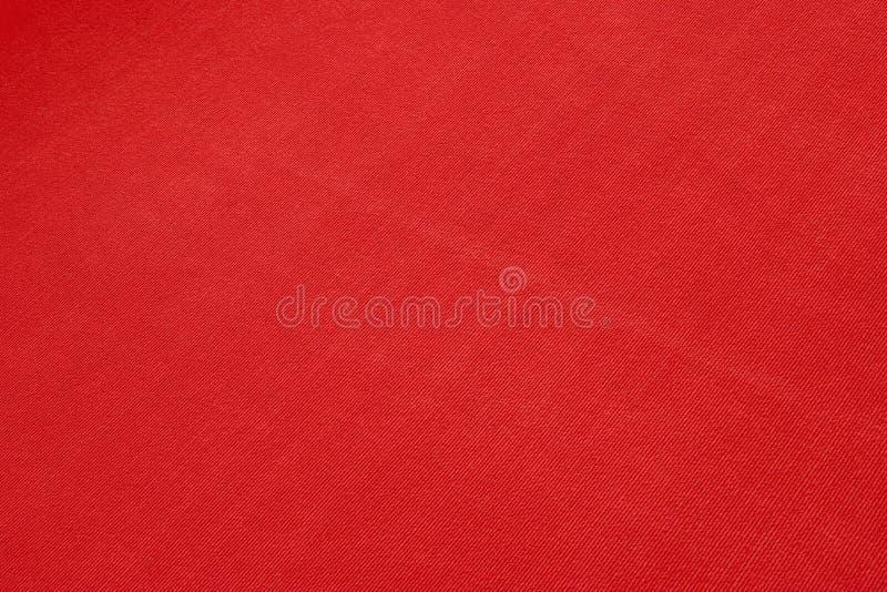 红色布料纹理 图库摄影