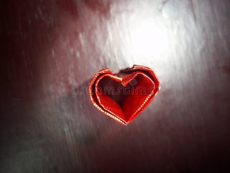 红色心脏标志 免版税库存图片