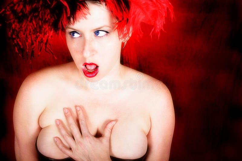 红色性感 免版税图库摄影