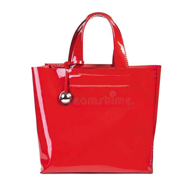 红色手袋 库存图片