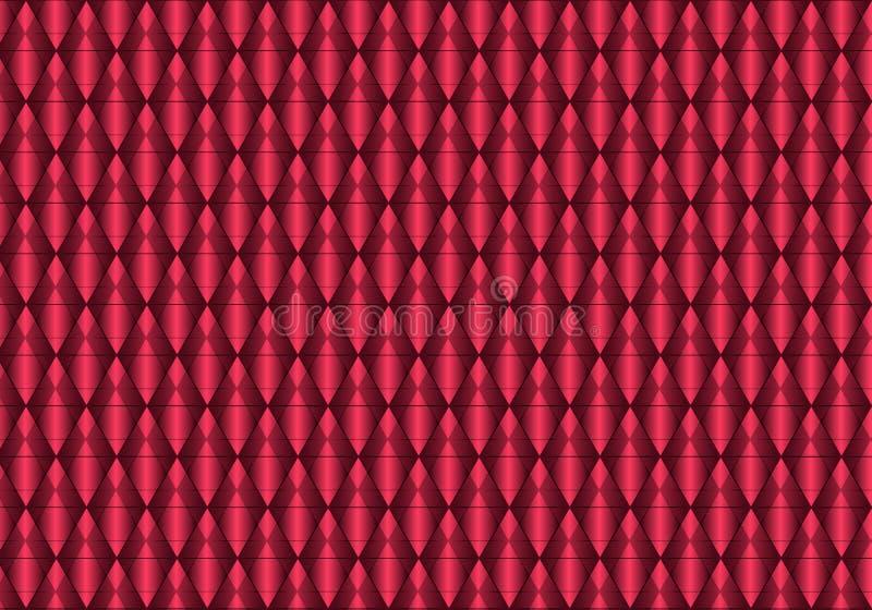 红色抽象几何纹理 r EPS10 库存照片