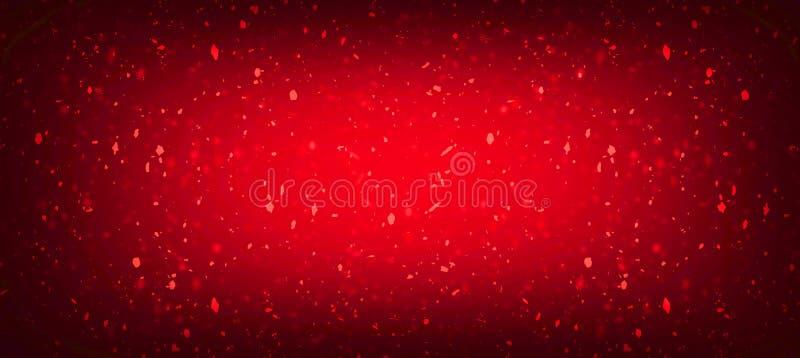 红色抽象背景或纹理葡萄酒红色破裂的墙壁 E 皇族释放例证