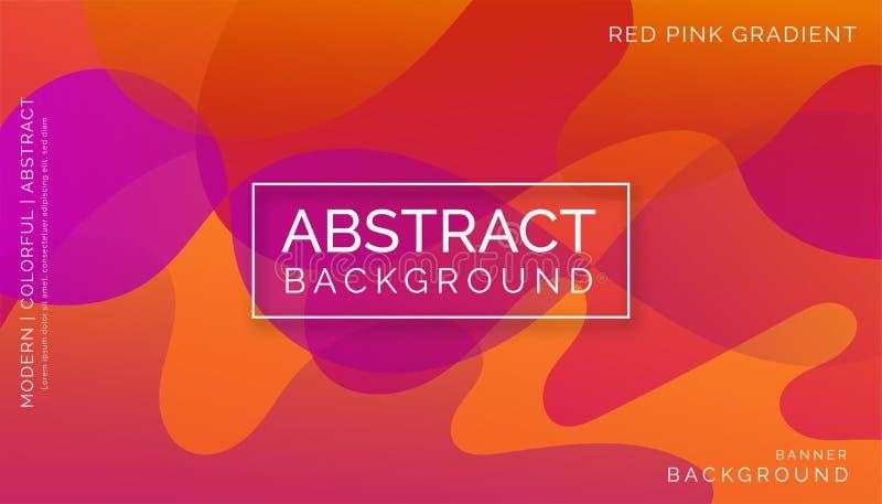 红色抽象背景,现代五颜六色的背景,动态抽象背景 库存照片