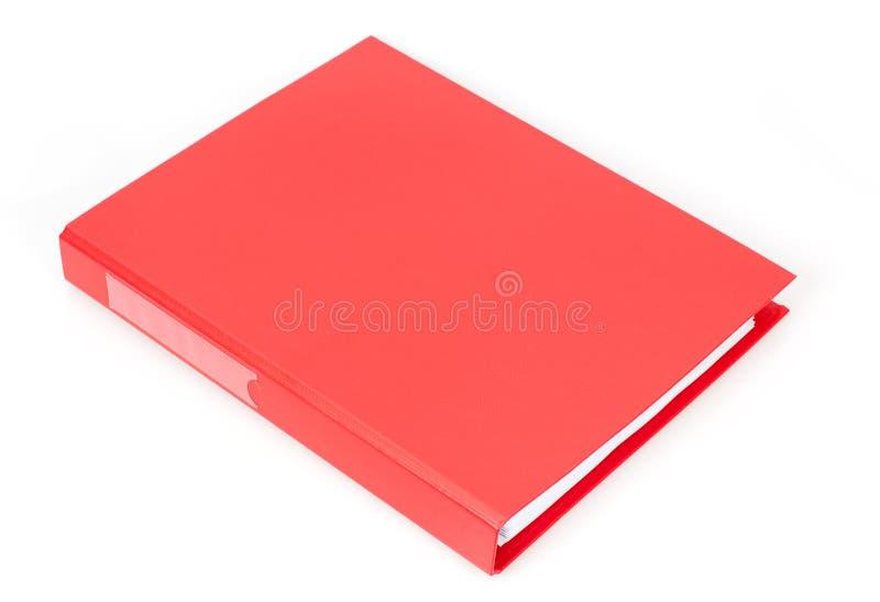 红色文件盒 图库摄影