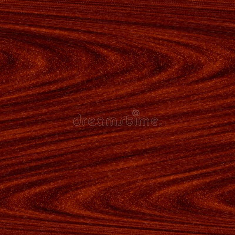 红色无缝的纹理木头 库存例证