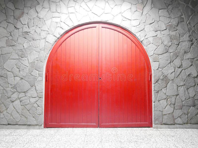红色曲拱门 图库摄影