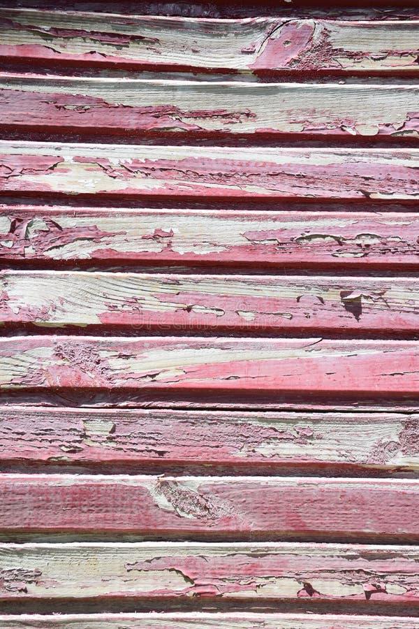 红色木头纹理  库存图片