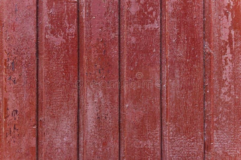 红色木板条的简单的照片背景样式 免版税库存图片
