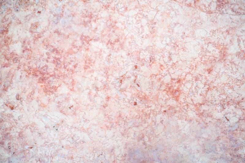 红色桃红色大理石被仿造的纹理背景 免版税图库摄影
