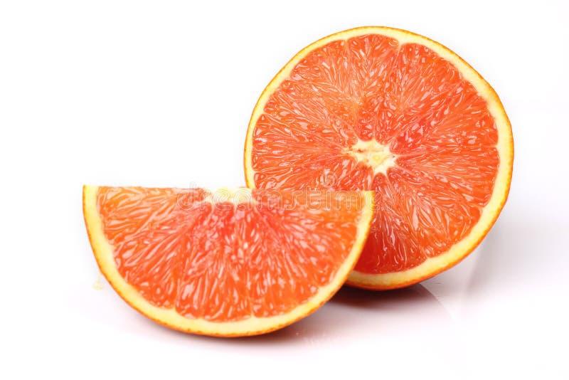 红色桔子 库存图片