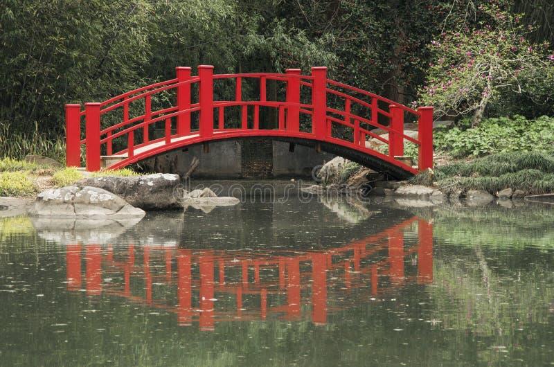 红色桥梁 图库摄影