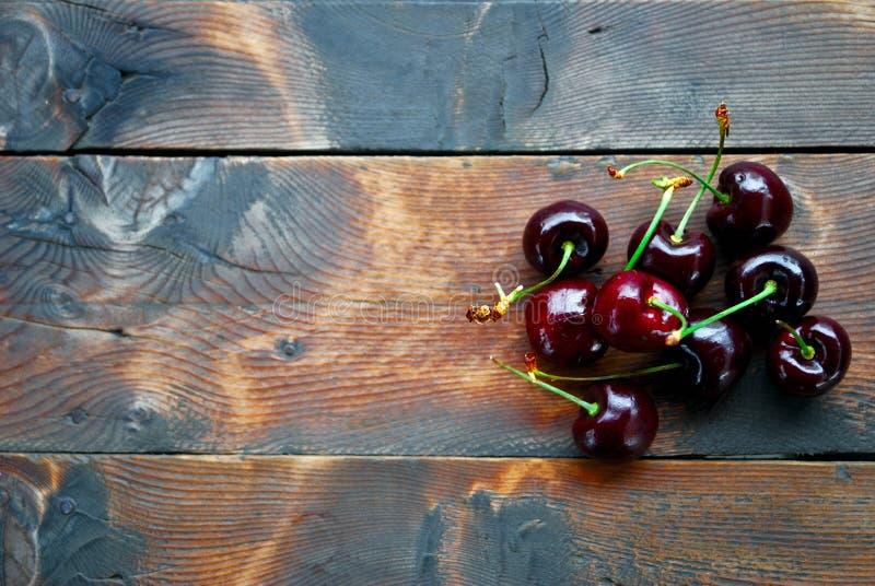 红色樱桃 免版税库存照片