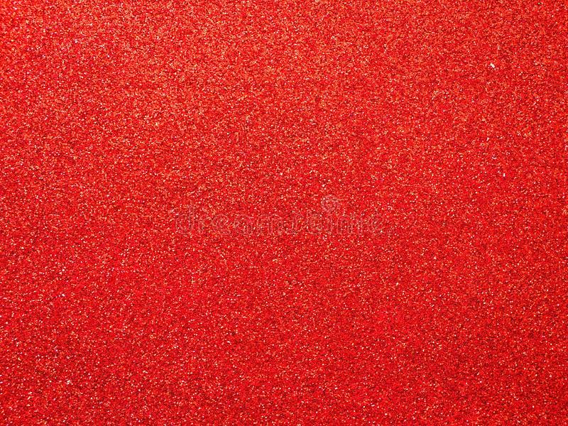 红色泡沫发光的纹理,红色抽象背景 免版税库存照片