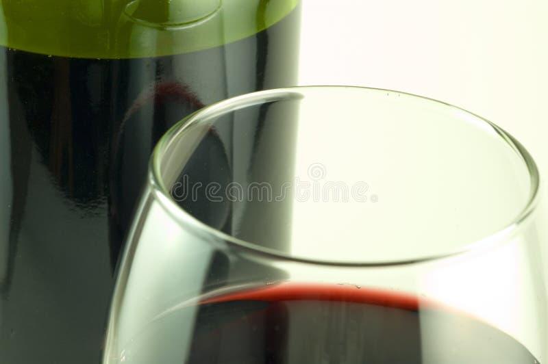 红色浓酒 图库摄影