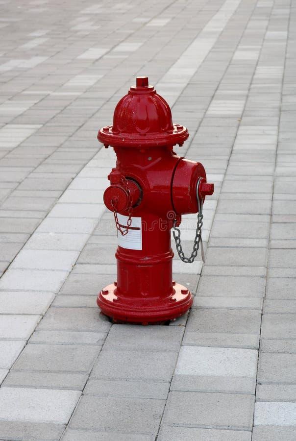 红色消防栓 免版税库存照片