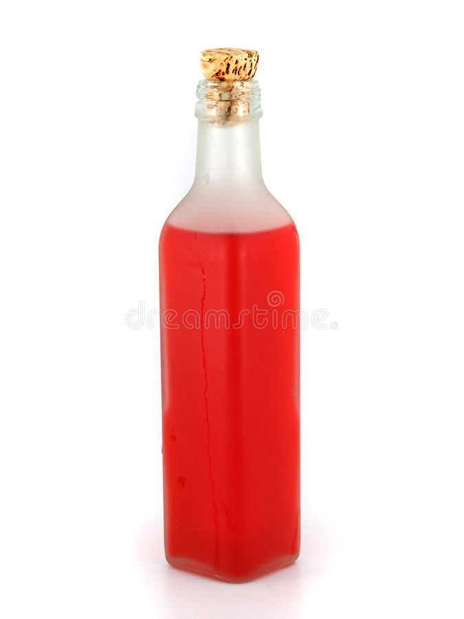 红色液体 图库摄影