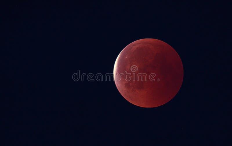 红色满月 免版税库存照片