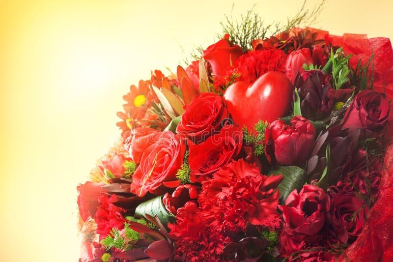 开花花束 库存照片