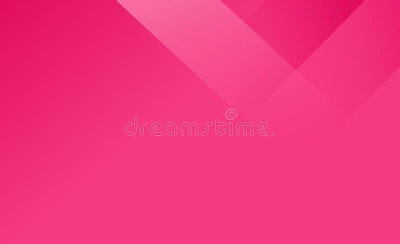 红色现代梯度彩色插图或背景 库存例证