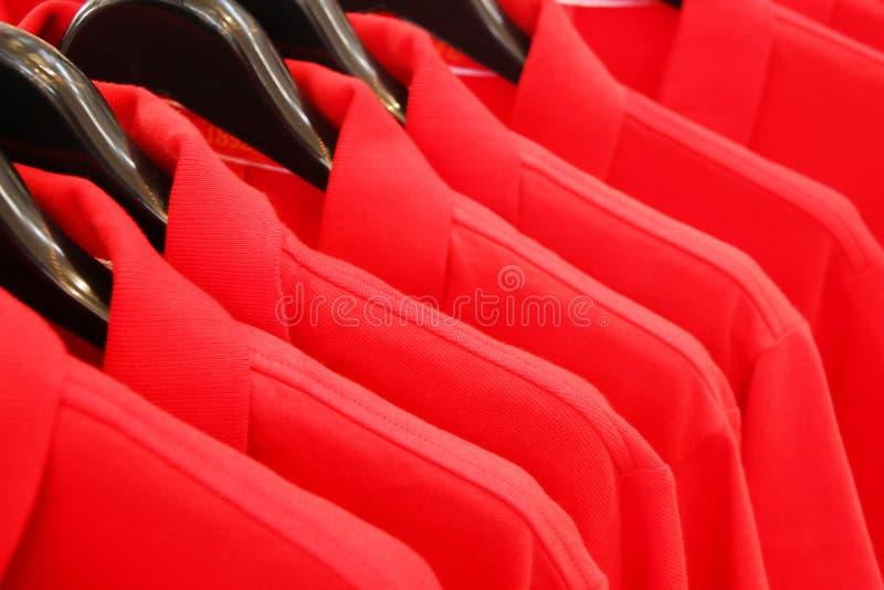 红色球衣 免版税图库摄影
