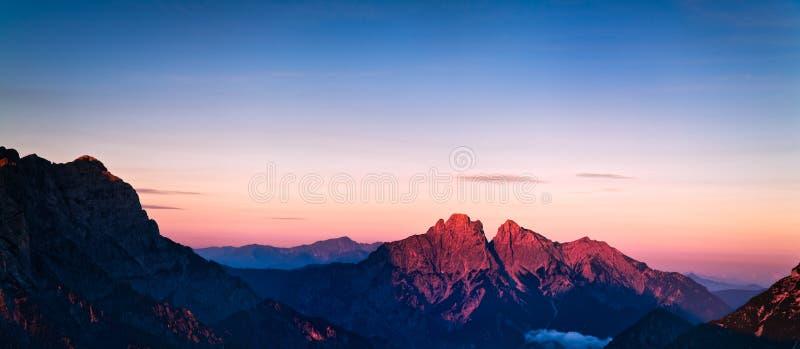 红色的山 免版税图库摄影