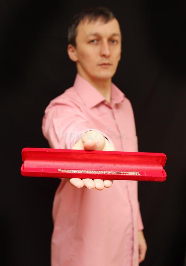 红色箱子 库存图片