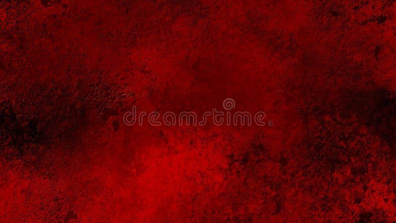 红色粒状纹理 皇族释放例证