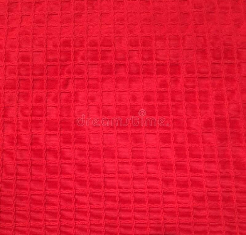 红色纹理正方形 免版税图库摄影
