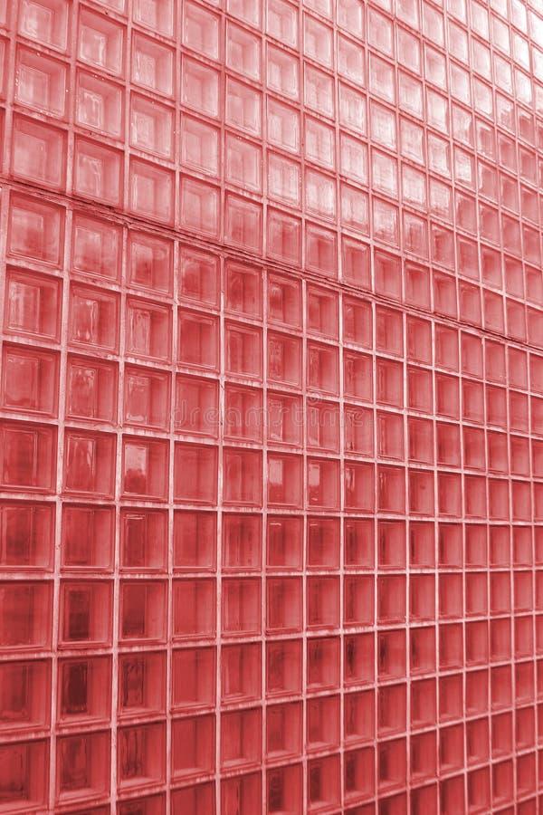 红色纹理瓦片 库存照片