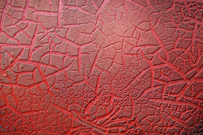 红色纹理背景,老抽象背景 免版税库存图片