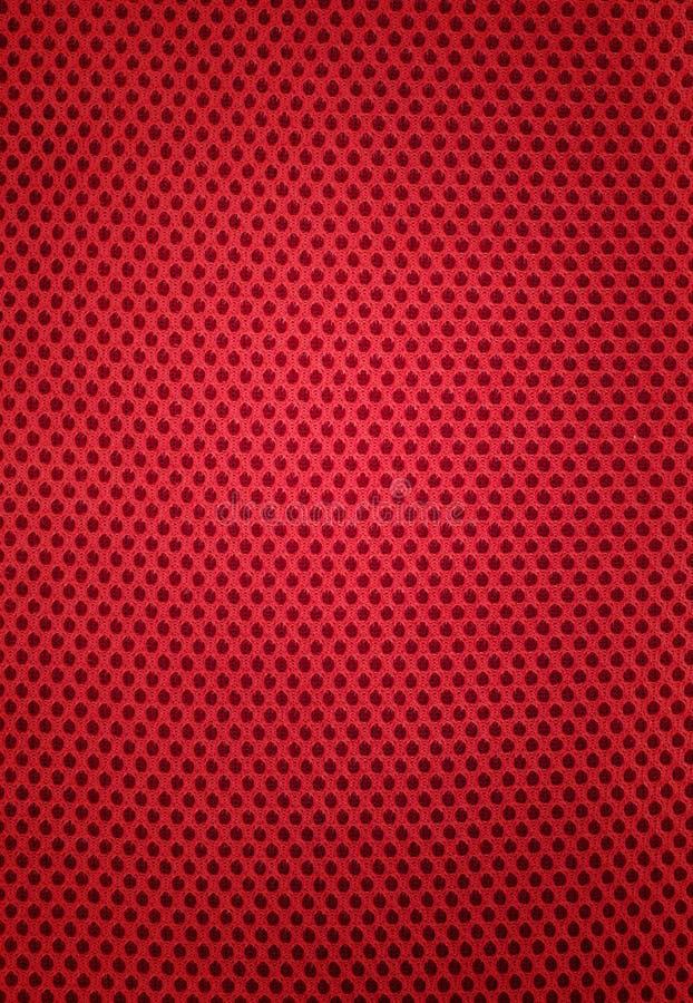 红色织品的模式 免版税图库摄影