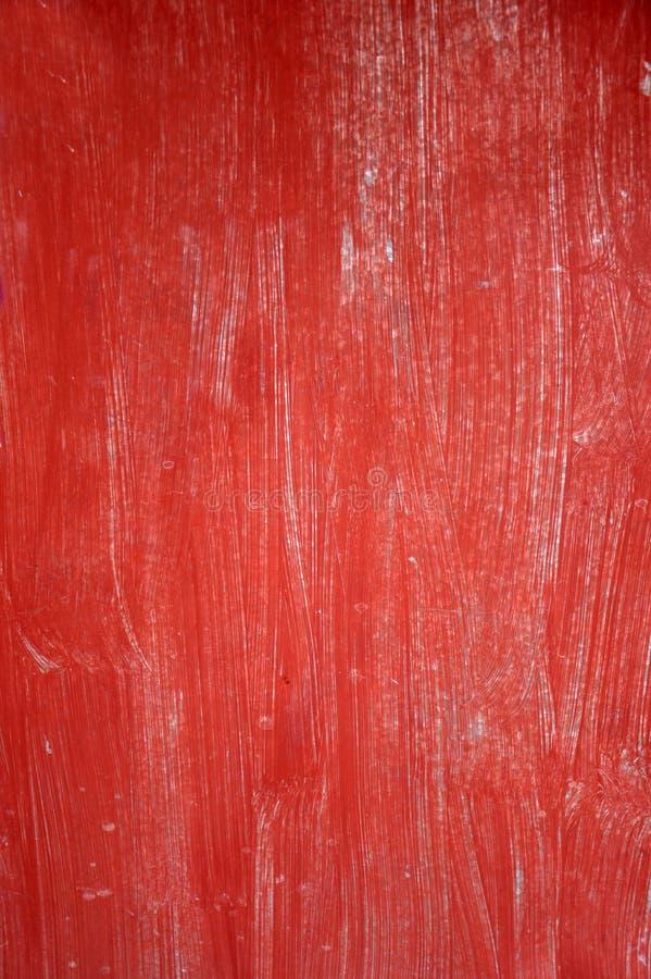 红色老木板 免版税库存照片
