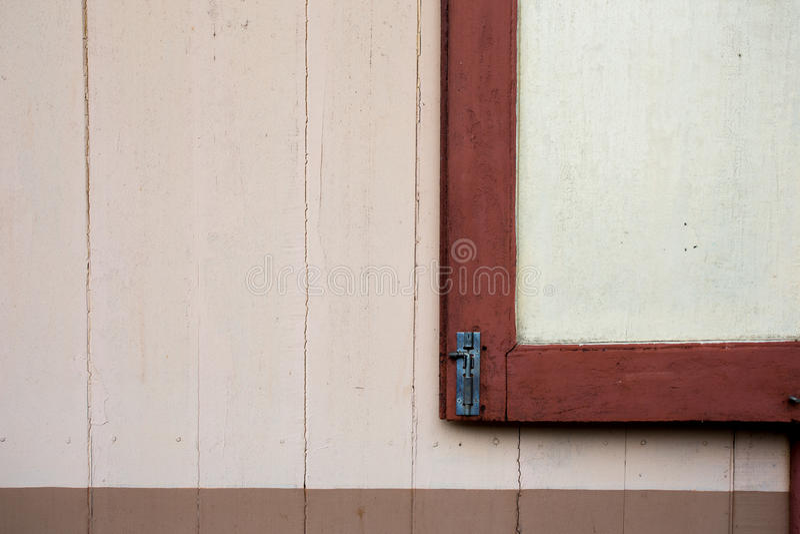 红色背景窗口 免版税库存图片