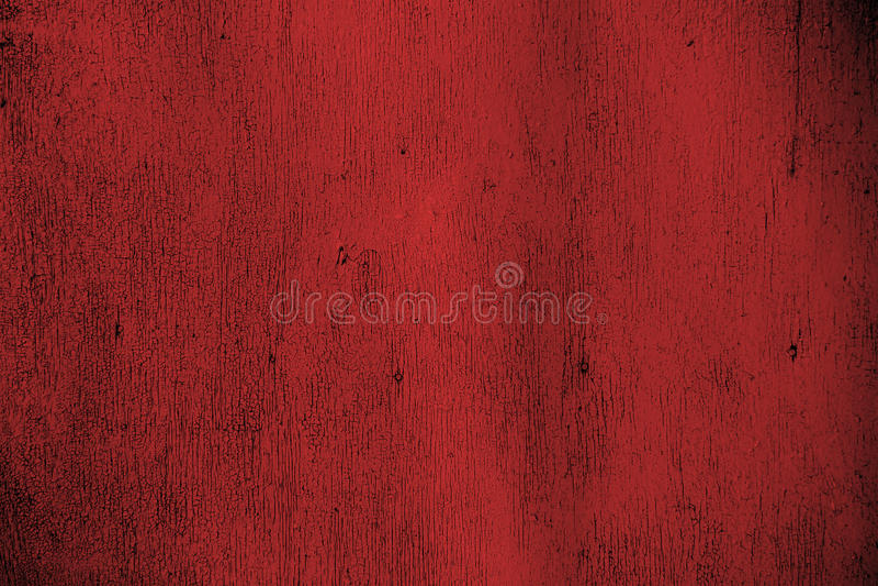 红色胶合板 背景,纹理 免版税库存图片