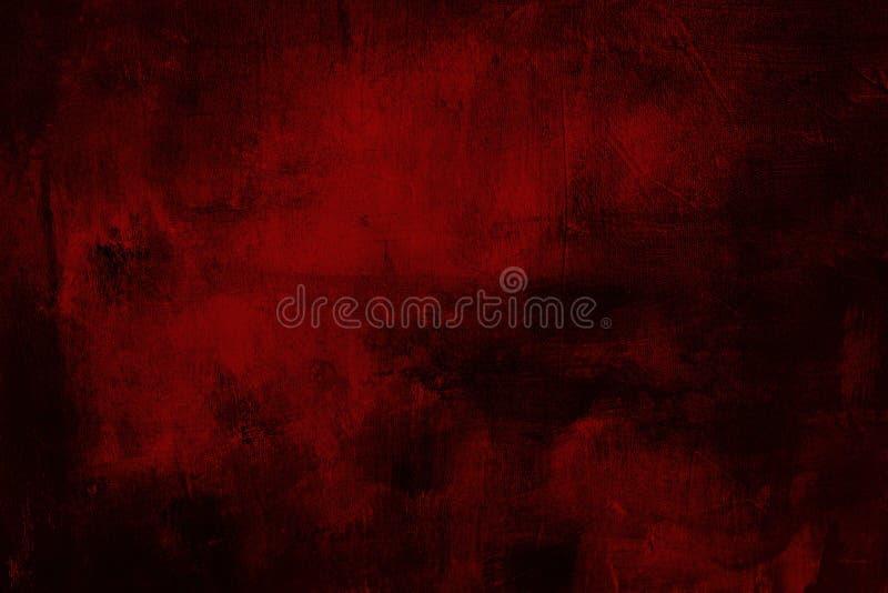 红色脏的绘画背景或纹理 库存照片