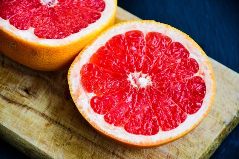 红色葡萄柚 图库摄影