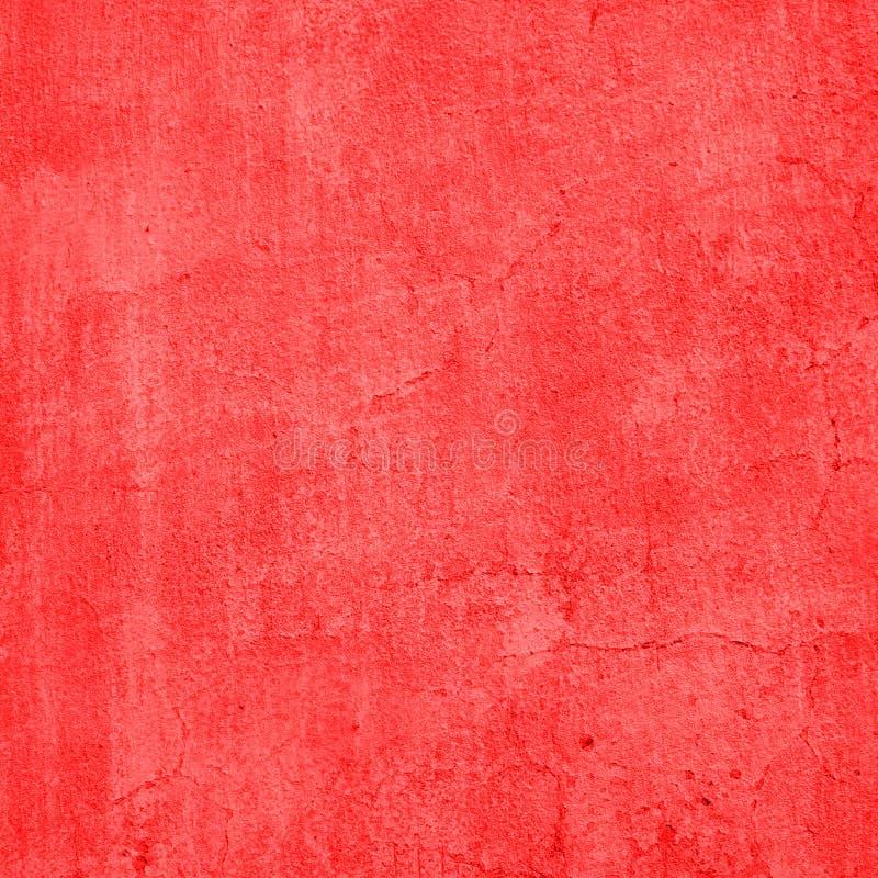 红色葡萄酒水泥墙壁 免版税库存照片