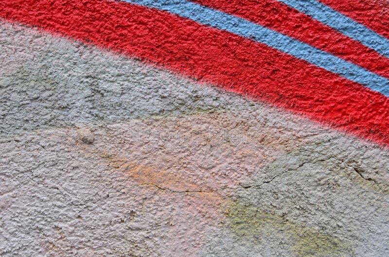 红色蓝色条纹 免版税图库摄影