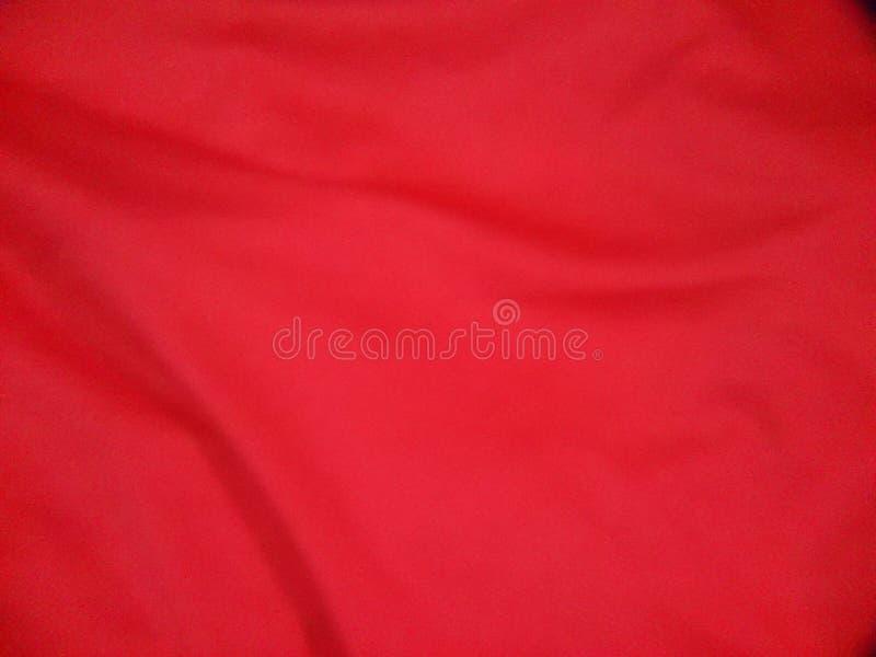 红色衣裳纹理 库存照片