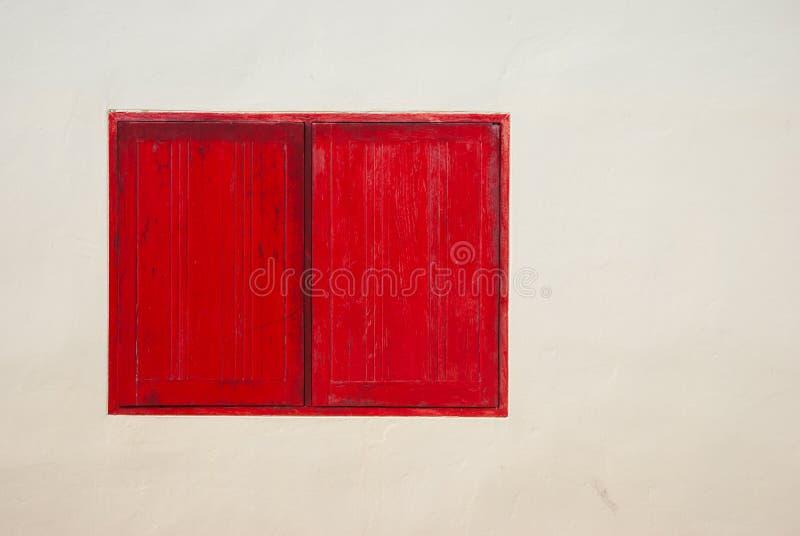 红色视窗 库存照片