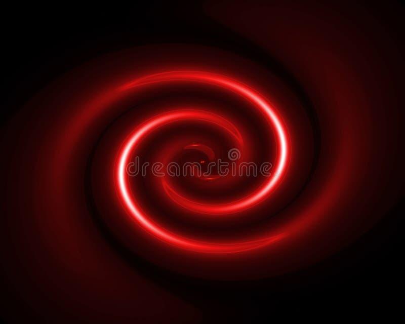 红色转动 皇族释放例证